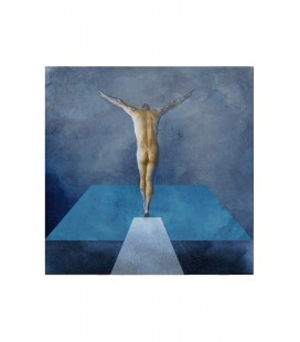 "Grafika ""Swimming pool"" – Adrian Purgał - Giclee"
