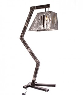 LAMPA METALOWA - IRON RHINO