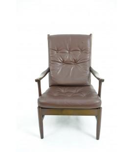 Skórzany fotel klubowy