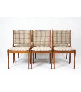 Komplet 6 krzeseł teakowych - IMHA -