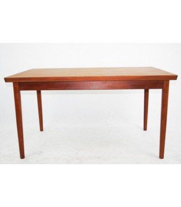 Stół jadalniany, Teak, Lata 70-te