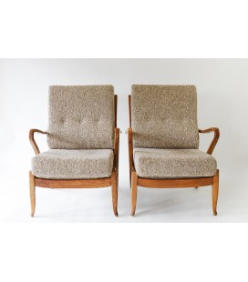 Para Foteli - Molliperma, producent - BSA, Niemcy lata 50-te.
