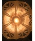 Ceramiczna lampa sufitowa - Pan Goebel - Niemcy, Lata 70-te.