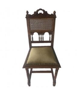 Dębowe krzesło gabinetowe, Niemcy, międzywojnie