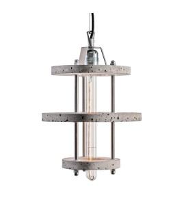 Lampa betonowa LEVELS 3BCA - Grey