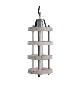 Lampa betonowa LEVELS 4A - Grey