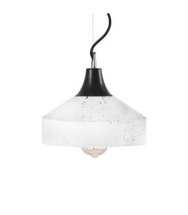 Lampa betonowa VULCANO WHITE B/G