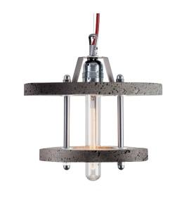 Lampa betonowa LEVELS 2CB - DarkGrey