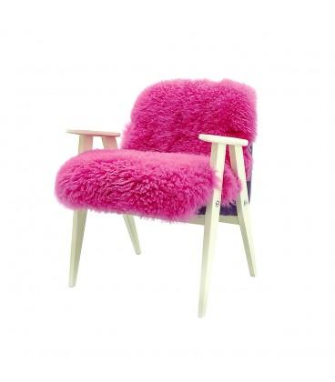 Fotel Różowy Futrzak – Pink furry