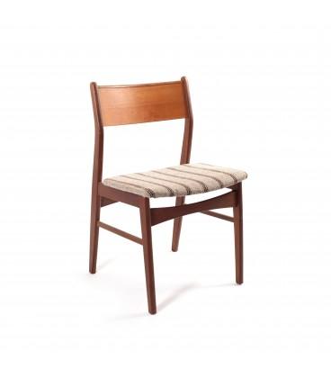 Orzechowe krzesła