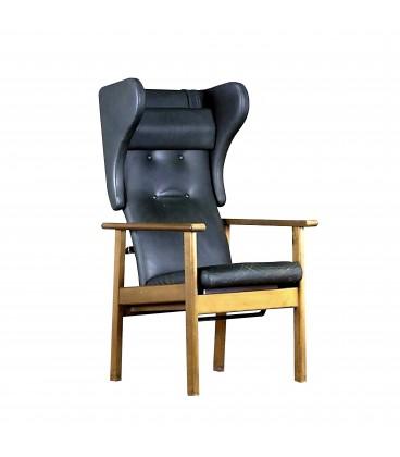 Fotel uszak z lat 70-tych.