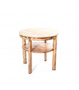 Stół okrągły z pomocniczym blatem