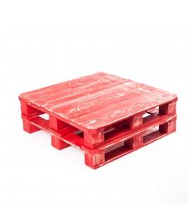 Stół, paleta czerwona
