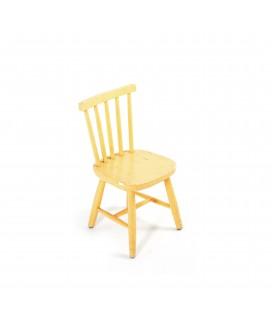 Krzesło dziecięce żółte