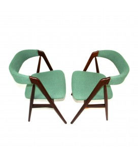Komplet dwóch krzeseł Kai Kristiansen