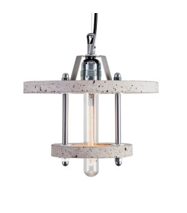 Lampa betonowa LEVELS 2CA - Grey