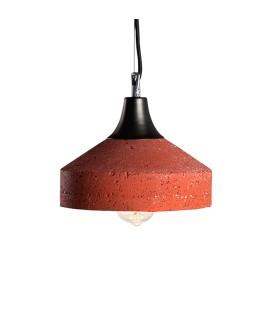 Lampa Betonowa Vulcano Red Brick