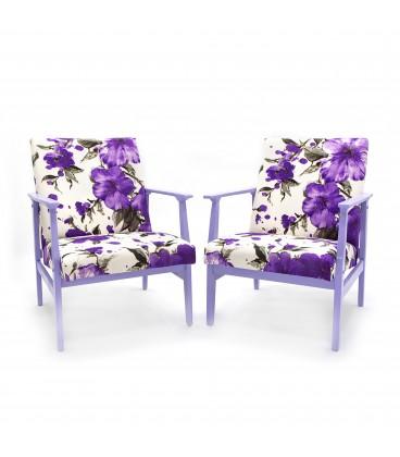 Fotel Lilkowy Kwiat – Lily