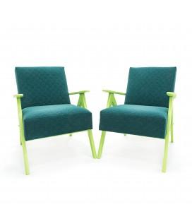 Komplet foteli Zielone Marzenie - Green Dreams