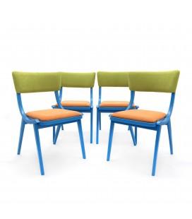 """Komplet Krzeseł """"Skoczki - Miś Uszatek"""" - """"Jumper"""" chair """"Uszatek Teddy"""""""
