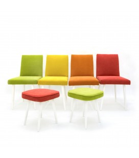 Komplet Krzeseł Tęcza - Chair Rainbow