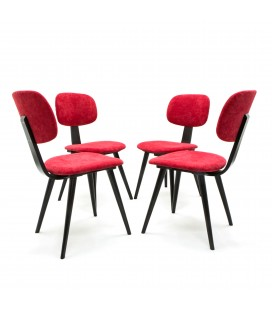 Komplet krzeseł Kier - Heart